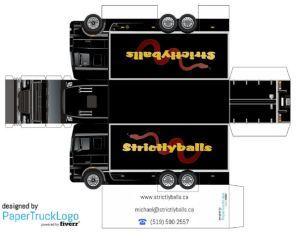 Papercraft_semi_truck_Stricktlyballs