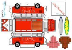 Papercraft_VW_Campervan_KUMU
